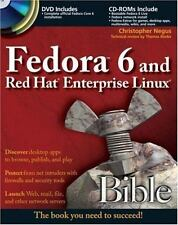 Fedora 6 and Red Hat Enterprise Linux Bible - VeryGood - Negus, Christopher - Pa