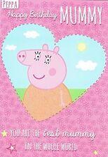 Peppa pig mummy birthday card NEW