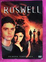 ROXWELL PRIMERA 1ª TEMPORADA SERIE TV 6 x DVD ESPAÑOL INGLES AM