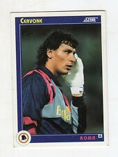 figurina card - CALCIATORI CARD SCORE 1993  - numero 272 ROMA CERVONE