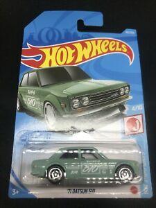 2021 Hot Wheels H Case 162/250 - 71 Datsun 510 - HW J-Imports