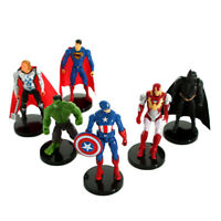 6 Type PVC Super Hero The Avengers Action Figure Toys
