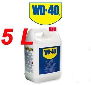 WD40 5 L bidon dégrippant nettoyant anti-humidité lubrifiant WD-40 5L lubricant
