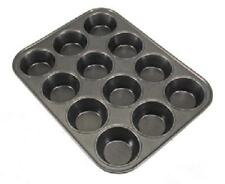 yorkshire pudding tray. 12 cup. 6cm diameter muffins. carbon steel. non stick.