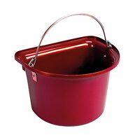 Stubbs Flat Sided Bucket 15 Lt S5B - RED [STB1261]