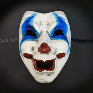 Masquerade Mask 2017 Limited Edition Halloween Joker Comedy Face Clown Costume