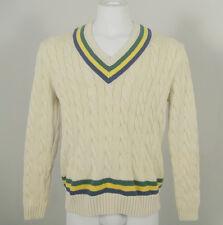 NEW! NWT! $195 Polo Ralph Lauren Classic Cricket (Tennis) Sweater! XL  Slim Fit