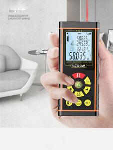6pcs laser distance meter electronic roulette laser digital tape range finder