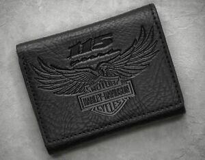 Geldbeutel Embossed B /& S Harley Davidson Brieftasche