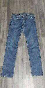 Levi's Jeans 510 Jeans Mens Blue Denim Classic Red Tab W30 L32 Good Condition