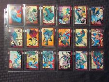 1992 DC Death of SUPERMAN / DOOMSDAY Trading Card LOT of 103 NM 9.4 Skybox
