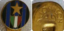 Distintivo calcio ⚽ INTER badge INTERNAZIONALE MILANO spilla piedino JOHNSON