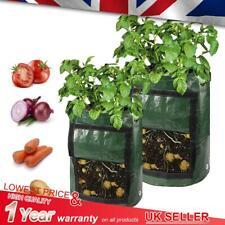 Potato Grow Bags Spuds Reusable Tomato Garden Vegetable Sack Pots Durable Tub