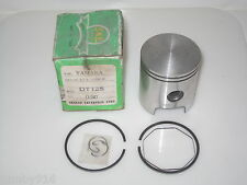 YAMAHA PISTON KIT DT125 DT 125 316 11636 00 SECOND OVER SIZE + 0.5  NOS SKE