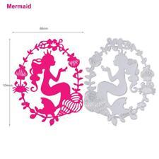Mermaid Metal Cutting Dies Stencils For DIY Scrapbooking Photo Album Paper Card