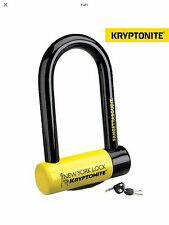 Kryptonite New York Fahgettaboudit Mini D U Bike Bicycle Lock Gold Sold Secure