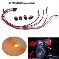 For 1:10 RC Cars TRX4 LED Undercar Light 3mm Fender Searchlight Ambient Lights