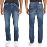 Nudie Herren Slim Fit Stretch Jeans | Grim Tim Org. Bay Blue | W32 L32 |B-WARE