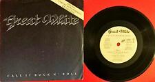 """Great White Call It Rock n' Roll Special Collector Edition Lp Vinyl 45 Giri 7"""""""