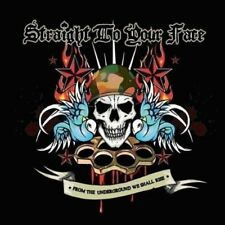 Straight to your face-from the underground we shall rise CD neuf emballage d'origine