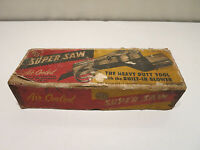 """Vintage RCS """"SUPER SAW"""" The Heavy Duty Tool, Built-In Blower With Box"""