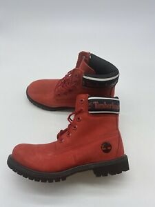 TIMBERLAND WOMEN'S PREMIUM 6 INCH WATERPROOF NUBUCK LEATHER BOOTS size 7 Y311