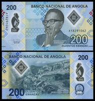 ANGOLA 200 KWANZAS 2020 P-NEW POLYMER NEW-UNC