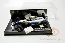 Paul 'S MODEL ART MINICHAMPS Formula Williams FW 16 RENAULT scale 1:43 - SCATOLA ORIGINALE