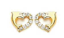 14k Gold Earrings  Screw Back ON SALE