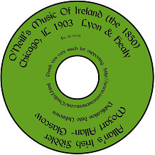 Irish Music (Hard Copy) E-BOOKS on a CD:  O'Neill's O'Carolans Allan's Trad Folk
