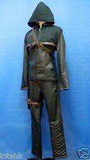 CW Arrow Oliver Queen Green Arrow Cosplay Costume Custom Made <lotahk>