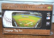 New Upper Deck YANKEE STADIUM NY YANKEES  Executive Collection Luggage Tag Set