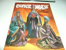 Vintage Paper Mache and Draped Figures Paperback Craft Book