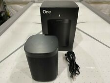 Sonos One (Gen 2) Voice Controlled Smart Speaker Alexa & Google Built-in - Black