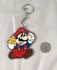 Vintage 1988 Super Mario 3 Inch Key Chain Nintendo Hip Hop Rap 80's Video Games