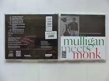 CD ALBUM THELONIOUS MONK and GERRY MULLIGAN Mulligan meets Monk 98988