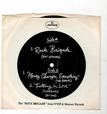 ROCK-DEF LEPPARD/BRAINS/SCORPIONS-MERCURY DJ-569 EP FROM WYSP IN PHILA.-W/PIC