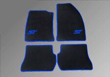 Fußmatten für Fiesta ST  Autoteppich Velour Logo Blau Autoteppiche 2005-2008