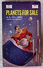 Planets For Sale by A.E. van Vogt & E. Mayne Hull PB 1st Book Co. of America