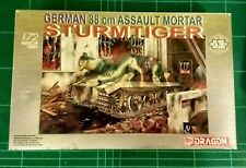 DRAGON 1/72 60114 38cm RW61 AUF STURMTIGER Model Kit