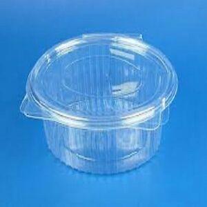 100 vaschette ovali ops per alimenti 2000 cc. Gastronomia con coperchio