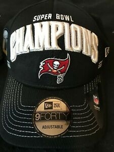 Super Bowl LV Champions Tampa Bay Buccaneers Championship Hat by New Era NEW