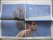 Dustin Brown – The Observer - The New Review – 22 June 2014