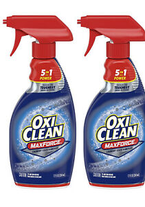 OxiClean MaxForce Laundry Stain Remover Spray Bottle, 16 Fl Oz(2pk)FREE SHIPPING