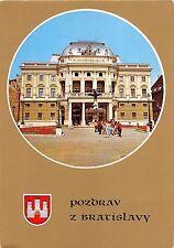 B27531 Bratislava Slovenske narodne Divadlo   slovakia