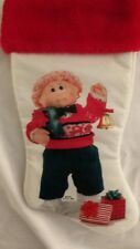 Vintage 1985 Cabbage Patch Kids Christmas Stocking
