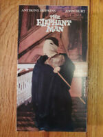 The Elephant Man Anthony Hopkins John Hurt 1980 VHS VERY RARE OOP! ORIGINAL B&W