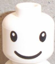 Lego Head with Nesquik Bunny Eyes and Smile Pattern x 1 for Minifigure