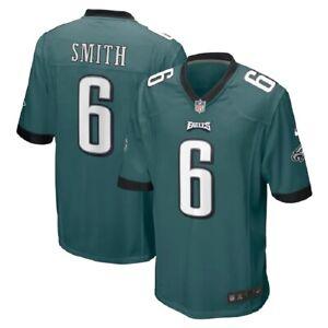 Youth Philadelphia Eagles DeVonta Smith Nike NFL Midnight Green 1st Pick Jersey