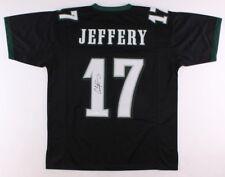 e6f1a6f5e Alshon Jeffery Signed Philadelphia Eagles Black Pro-Style Jersey (JSA COA)